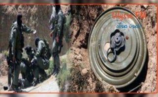 استشهاد عسكري واصابة اخرين في انفجار لغم بجبال القصرين