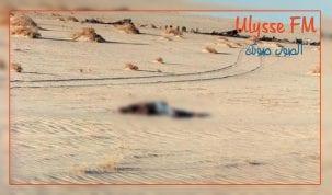 العثور على جثة بصحراء