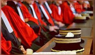 القضاة في يوم غضب بكامل محاكم الجمهورية
