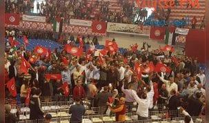 تجمع نقابي وعمال ضخم اليوم بقبة المنزه بالعاصمة