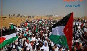 59 شهيدا فلسطينيا والاف الجرحى في مليونية العودة