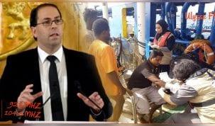 رئيس الحكومة يؤكد السماح للمهاجرين العالقين بسواحل جرجيس بالدخول الى تونس