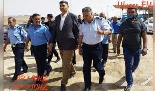 وزير الداخلية الليبي يزور معبر وازن الحدودي و يأكد على ضرورة الحد من ظاهرة التهريب