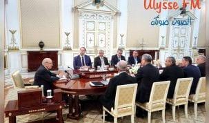 انطلاق اجتماع مجلس الامن القومي