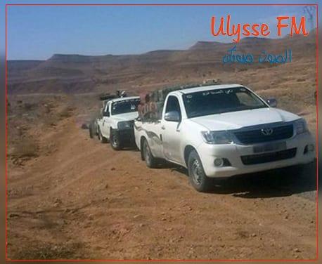 حجز سيارتي تهريب و ايقاف مهرب قرب الساتر الترابي بين تونس وليبيا
