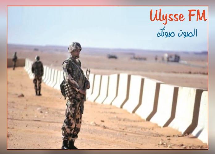 بنقردان : رغم حرارة الطقس دوريات أمنية في المنطقة الصحراوية الحدودية