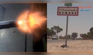رمادة :اصابة جندي من سلاحه على وجه الخطأ