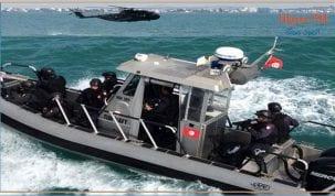 جيش البحر :إنقاذ جزائريين بالموقع غربي جزيرة جالطة