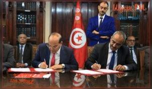 توقيع دليل إجراءات التنسيق بين الهيئة الوطنية لمكافحة الفساد ووزارة المالية