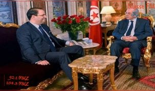 جلسة عمل بالبرلمان بين رئيس مجلس نواب الشعب ورئيس الحكومة يوسف الشاهد اليوم
